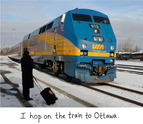 train photo by Franke James