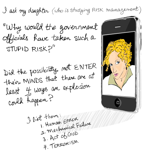 Franke James drawing of iphone