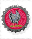 chickencap bookplates for download, illustrations by franke james