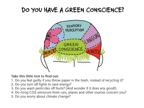 green conscience test
