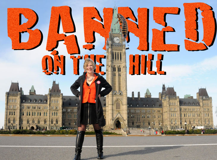 Banned on the Hill with Franke James