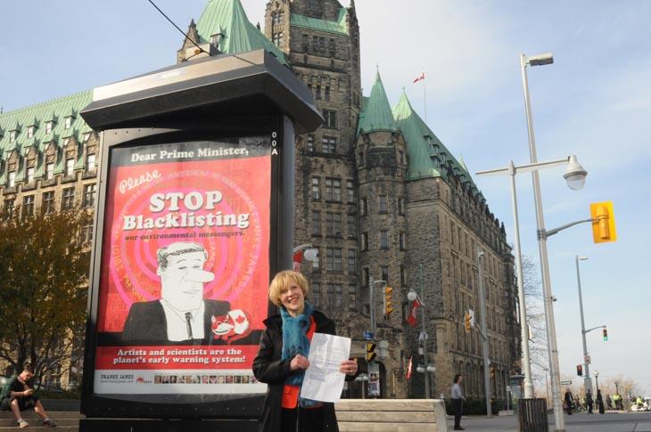 November 2011 Franke's Protest Artshow in Ottawa