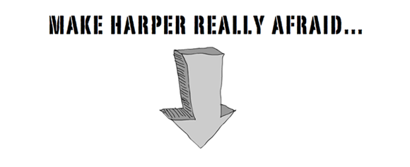 Make Harper really afraid, illustration by Franke James