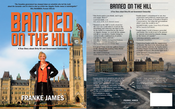 Banned on the Hill - Front and Back Covers