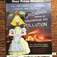 DearPM Alice in the tar sands Poster Franke James