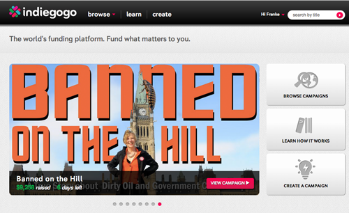 Banned on the Hill GoGo factor