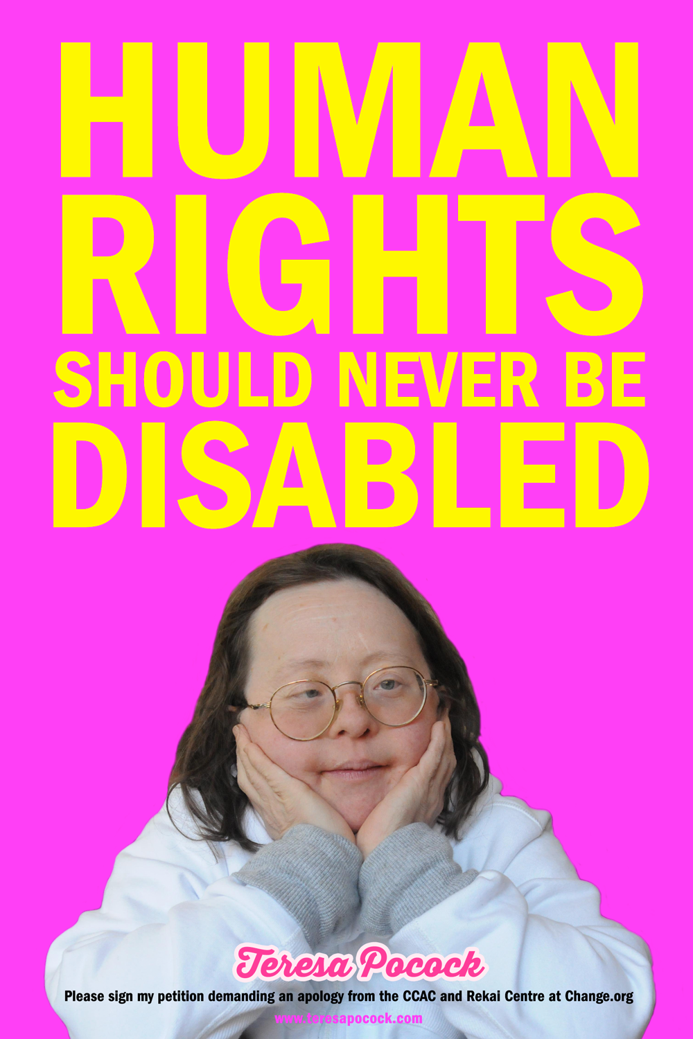Teresa Pocock: Human Rights should never be disabled