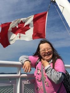 Teresa Pocock Canada Flag