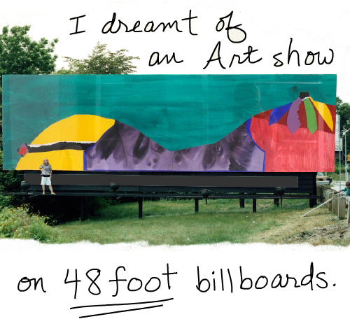 imaginary billboard franke james;