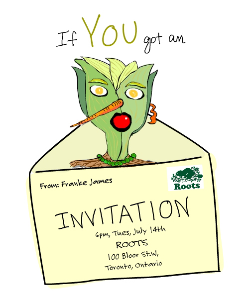 Invite Illustration by Franke James