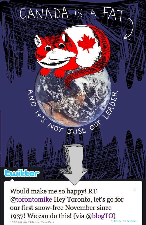 twitter screen grabs and fact cat illustration by Franke James