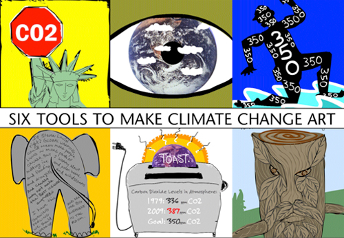 Franke James Six Tools for Climate Change Art are Symbols, Metaphors, Witness, Culture Change, Human Nature, Action