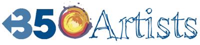 350 artists logo