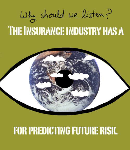 Insurance Eyeball illustration by Franke James from Bates College keynote