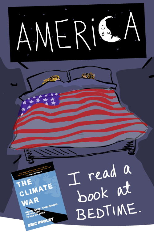 Franke James drawing Will America wake up?