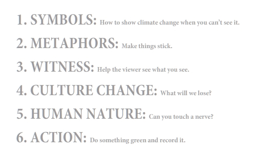 Franke James Six Tools for Climate Change Art