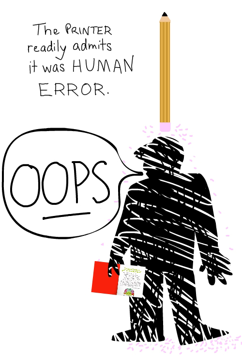 human error illustration by franke james