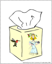 tissue bookplates for download, illustrations by franke james