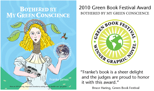 Green Book Festival Medal by Franke James