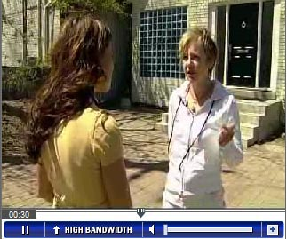 Melissa Grelo CityTV interview with Franke James about driveway and front yard