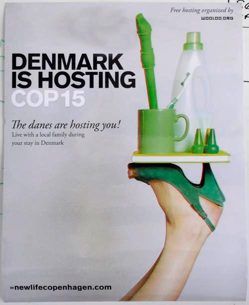 New Life Copenhagen Poster, photo of poster by Franke James