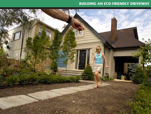 planting green driveway. photo by lucas oleniuk toronto star