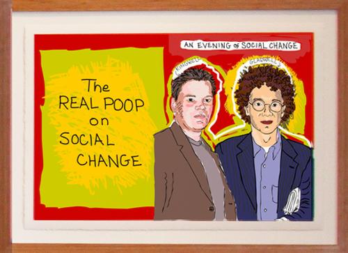 The Real Poop on Social Change illustration by Franke James;