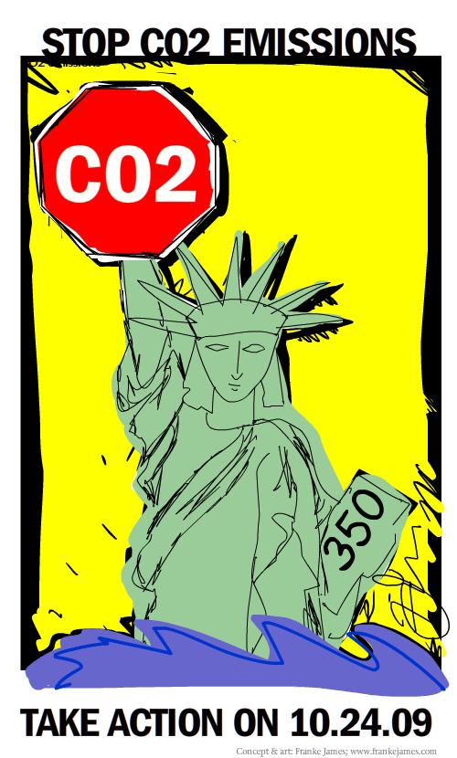 stop CO2 illustration by Franke James;