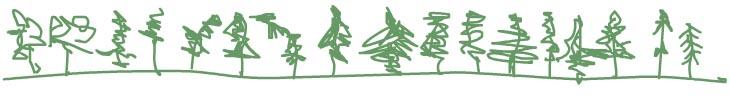 treeline illustration by Franke James