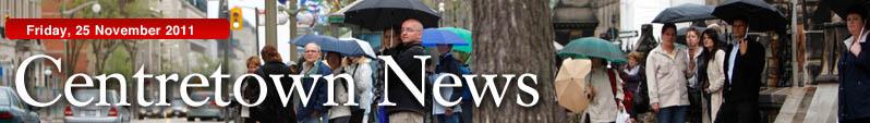 Centretown News masthead