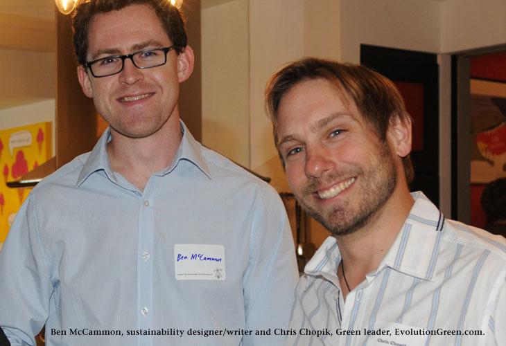 Ben McCammon and Chris Chopik, photo by James Coburn