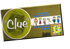 Parker Brothers Clue, old game
