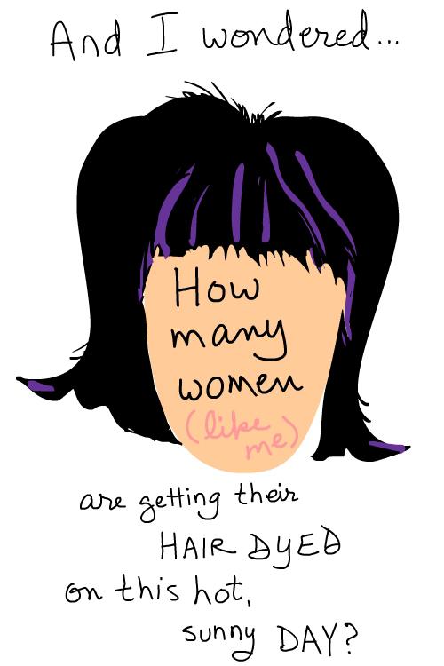 hair style Illustration by Franke James