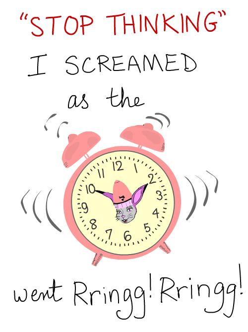 ringing clock Illustration by Franke James