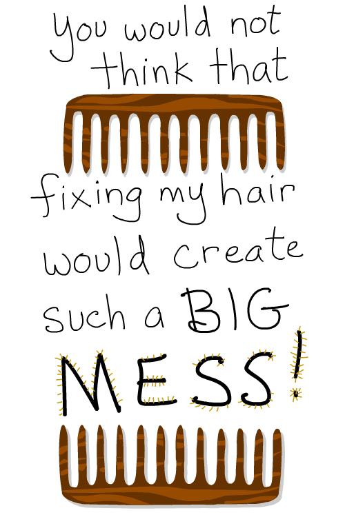 comb Illustrations by Franke James