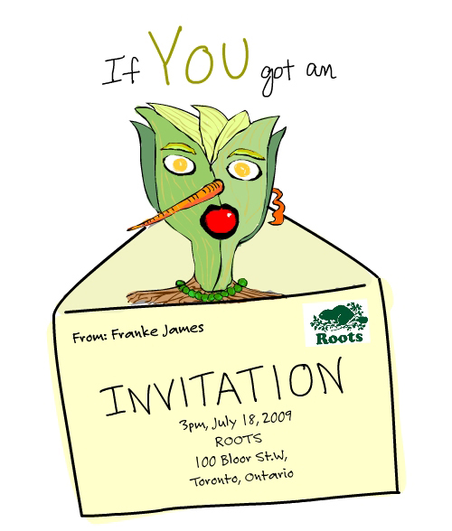 Invite Illustration by Franke James