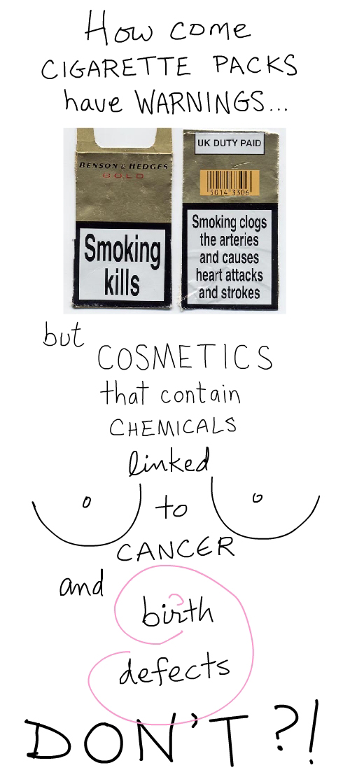 cigarette package from wikipedia