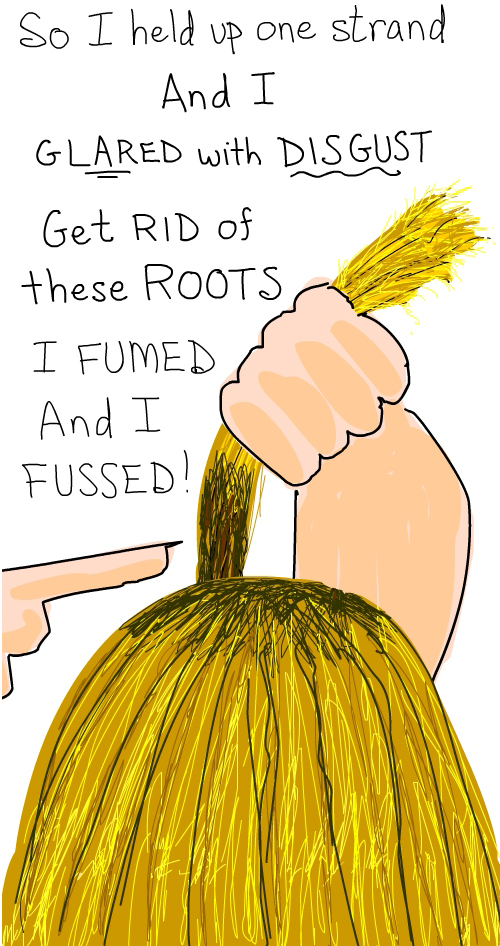 hair Illustration by Franke James
