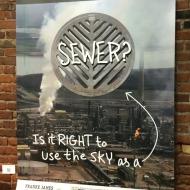 DearPM Sewer Sky Poster FrankeJames_iphone