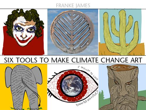 illustration by franke jamaes, Q&A on making climate change art
