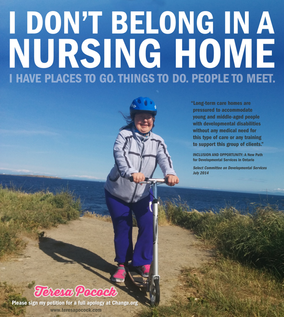 Teresa says 'I don't belong in a nursing home'